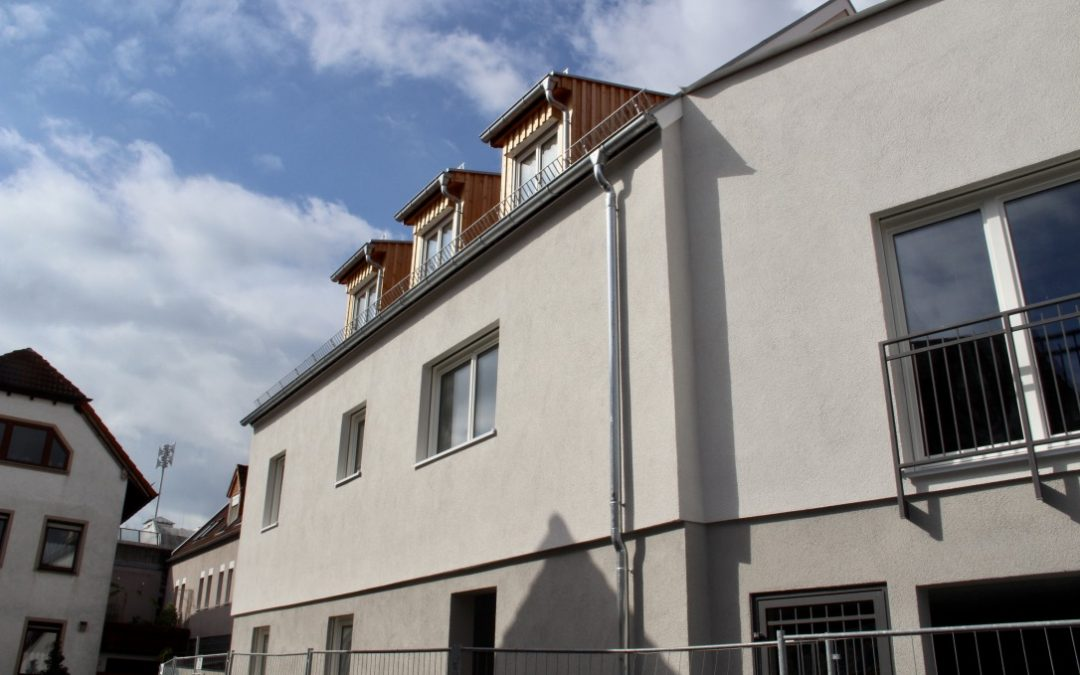 Neubau Erstbezug – geräumige und helle 2 ZKB Erdgeschoss Wohnung am Rande der Bensheimer Innenstadt