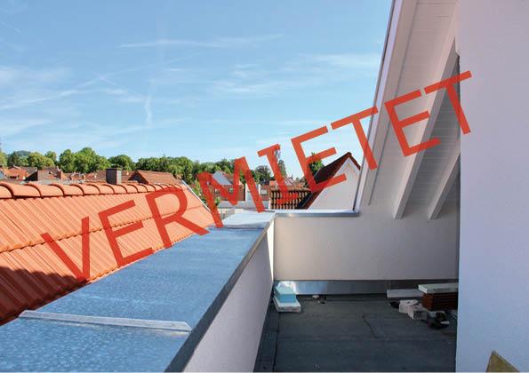 Neubau Erstbezug – geräumige und helle 3ZKB Wohnung mit wunderschöner Dachterrasse am Rande der City
